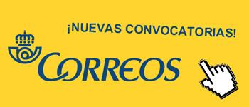 nueva convocatoria oposiciones correos 2016