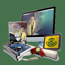 Pack premium de temarios de correos con academia online
