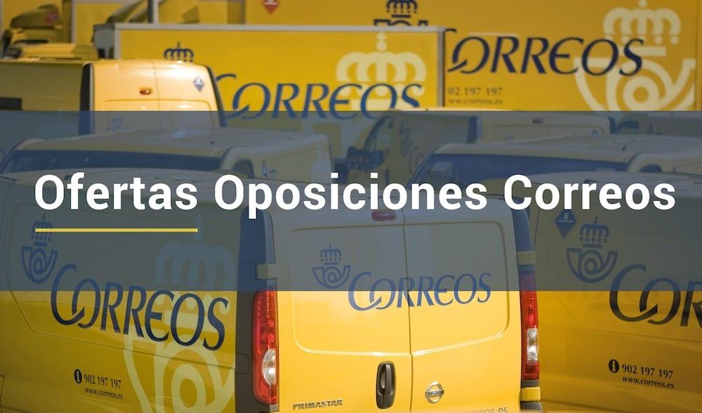 ofertas oposiciones correos