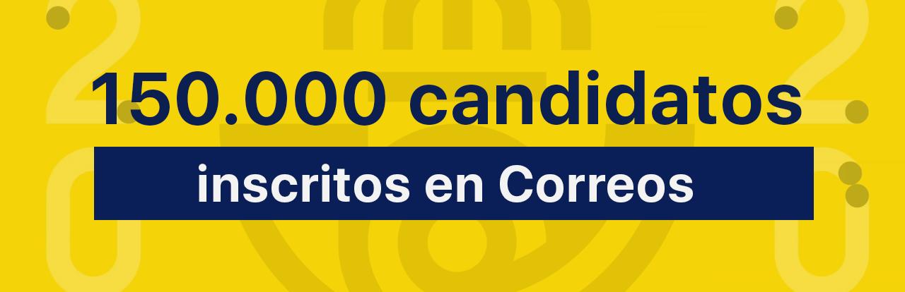150000 candidatos