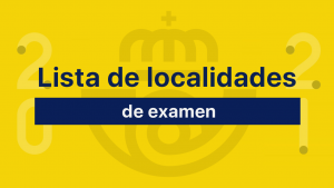 localidades de examen correos